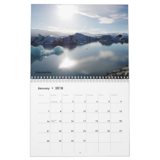Enchanting Iceland Wall Calendar