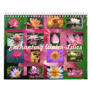 Enchanting Water-Lilies 2013 Fine Art Photography Wall Calendars