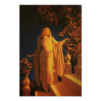 Enchantment (Cinderella) Maxfield Parrish Fine Art Poster