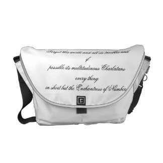 Enchantress of Numbers Courier Bag