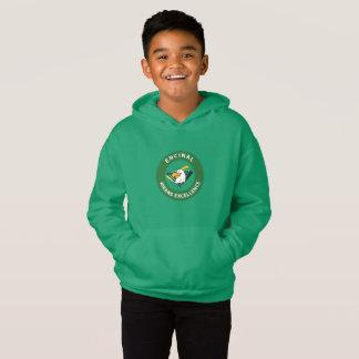 Encinal  Kids Circle Eagle Logo Sweatshirt