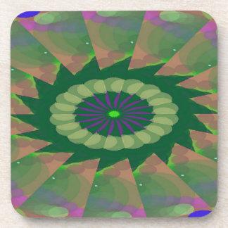 Encircled Porch Pattern Coaster