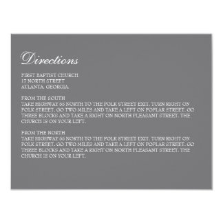 """Enclosure Card // The Elegance Collection 4.25"""" X 5.5"""" Invitation Card"""