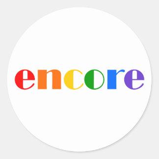Encore Stickers