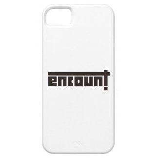 ENCOUNT logographic entering iphone5 case iPhone 5 Cases