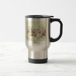Encounter By Richter Ludwig Coffee Mug