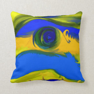 """Encounter"" Pillow Designed by Tawny's Uniques"
