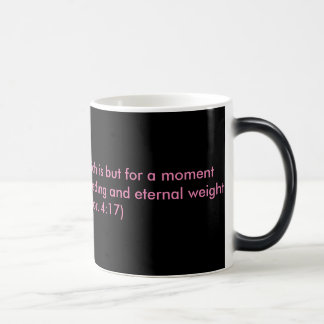 Encouragement from the word of God Magic Mug