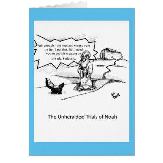 Encouragement Humor Greeting Card