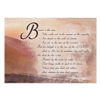 Encouragement & Inspirational Bible Verse Cards Large Business Cards (Pack Of 100)
