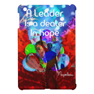 Encouragement  message for leadership. iPad mini cover