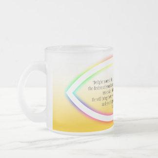 Encouragement  mug with Christianity Symbols