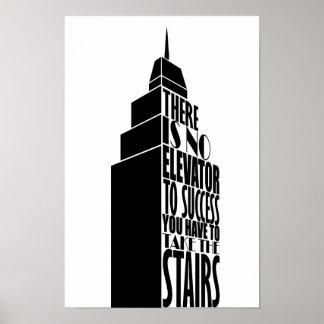 Encouragement quote design poster