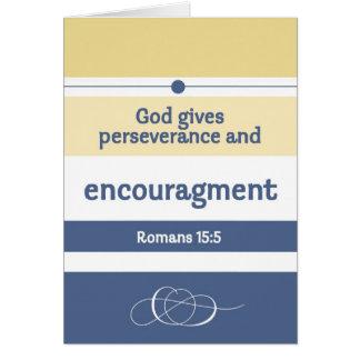 Encouragement Scriptures Card