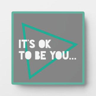 Encouragement Typography Quote Graphic Text Design Plaque