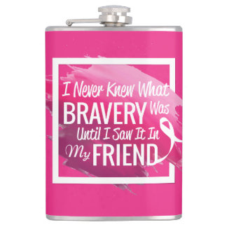Encouragement words for a brave friend with cancer flasks
