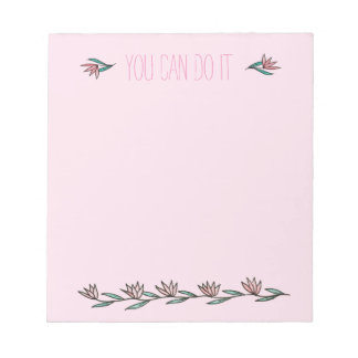 Encouraging Lilies Notepad