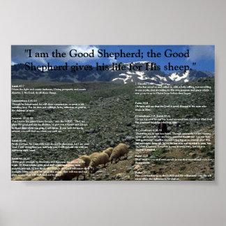 Encouraging Verses Poster