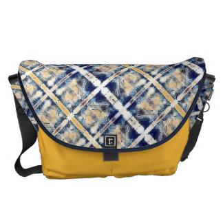 Encre Noire Blue Messenger Bags