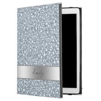 "Encrusted Diamonds Glitter Patter iPad Pro 12.9"" Case"