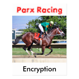 Encryption - Paco Lopez Postcard