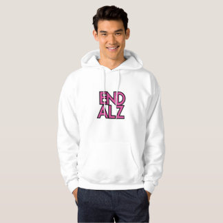 End Alz Alzheimer's Awareness Month Purple Gifts Hoodie