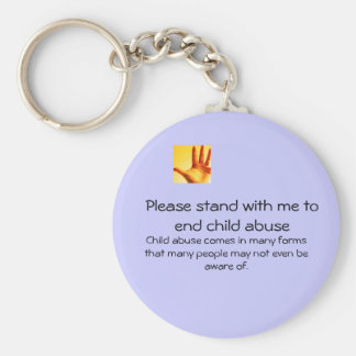 end child abuse keychain