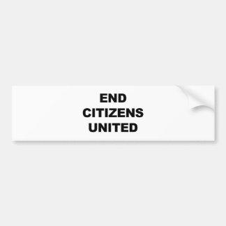 End Citizens United Bumper Sticker