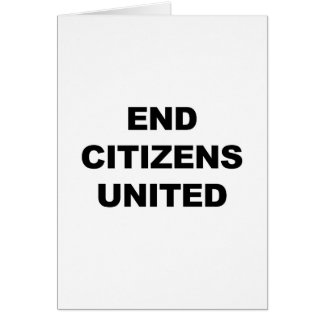 End Citizens United Card
