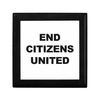 End Citizens United Keepsake Boxes