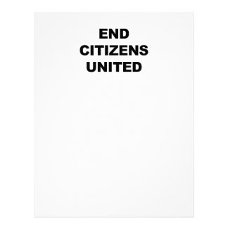 End Citizens United Letterhead