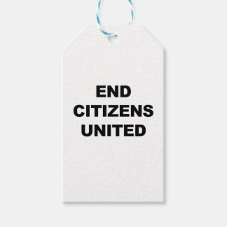 End Citizens United Pack Of Gift Tags