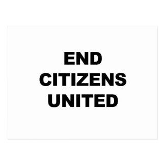 End Citizens United Postcard
