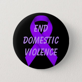 End domestic violence 2 inch round button