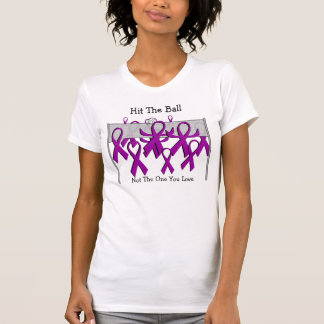 End Domestic Violence - Volleyball Style T-Shirt