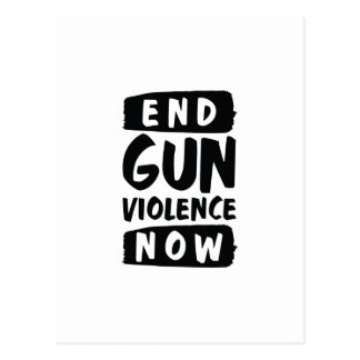 End Gun Violence Now Postcard