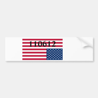 End of America Bumper Sticker