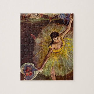 End of an Arabesque by Edgar Degas, Vintage Ballet Jigsaw Puzzle