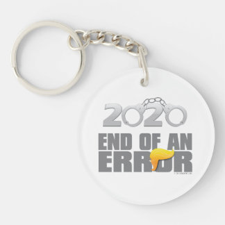 End of an Error Cuffs Keychain