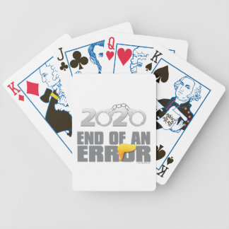 End of an Error Playing Cards
