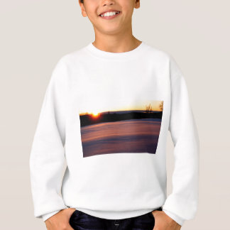 End of Day, midwinter sunset Sweatshirt