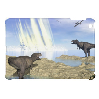 End of dinosaurs iPad mini cases