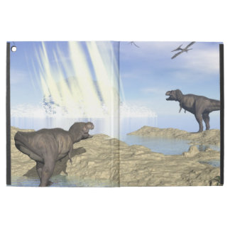 "End of dinosaurs iPad pro 12.9"" case"