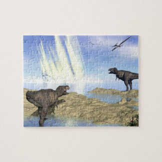 End of dinosaurs jigsaw puzzle