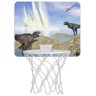 End of dinosaurs mini basketball hoop