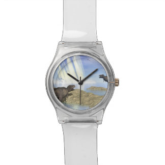 End of dinosaurs wristwatches