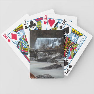 End of Fall Bicycle Playing Cards