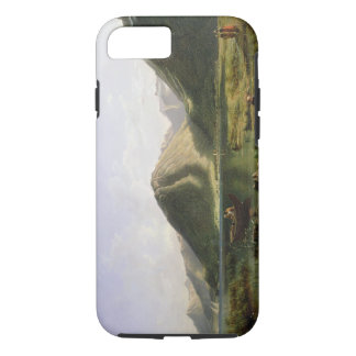 End of Lake Geneva, 1835 (oil on canvas) iPhone 7 Case