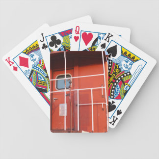 End of The Line Bicycle Playing Cards