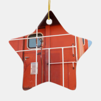End of The Line Ceramic Star Ornament